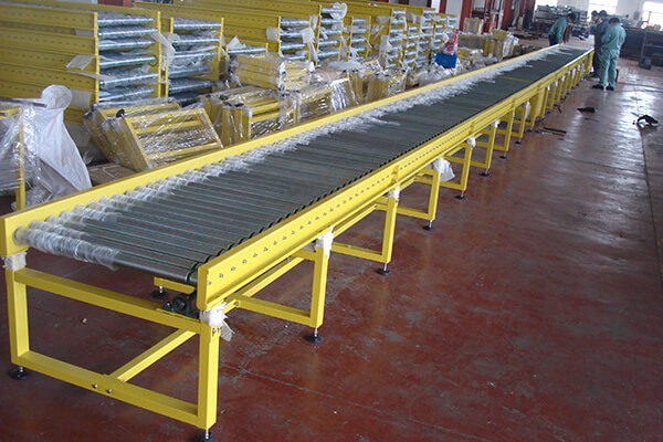 O band accumulation roller conveyor