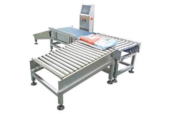 Big size panel sorting check weigher