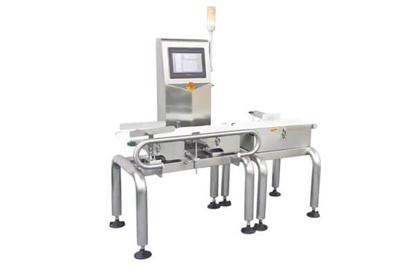 High Accuracy ±0.1g check weigher for small bottles