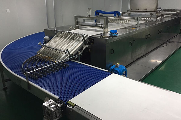 Plastic mesh wire chain plate conveyor for biscuits